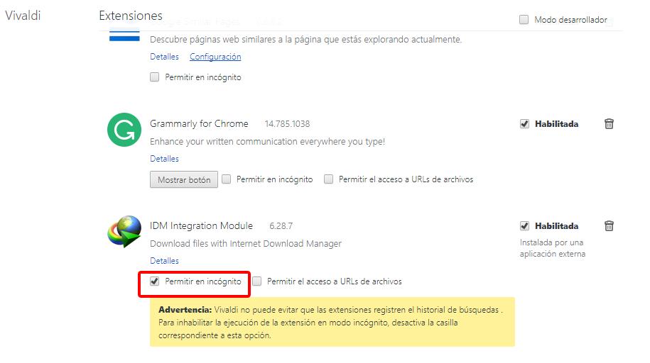 Problem with IDM (Internet Download manager) | Vivaldi Forum