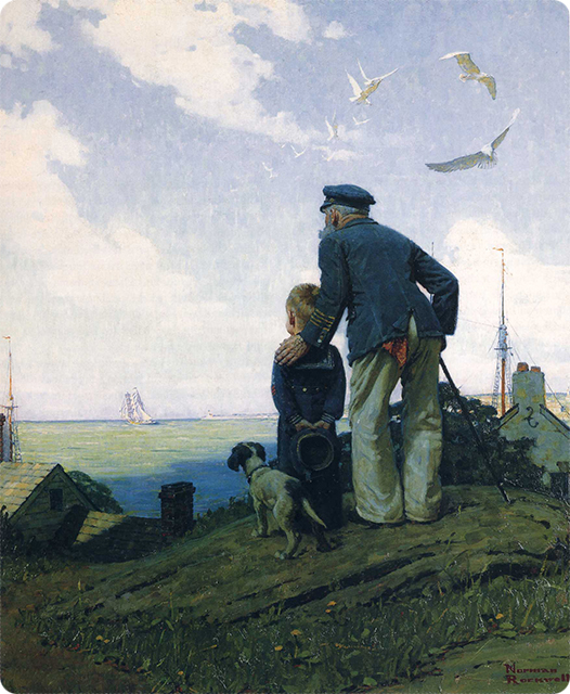 0_1500794622025_Norman Rockwell - The Stay at Homes (Outward Bound) (1927).jpg