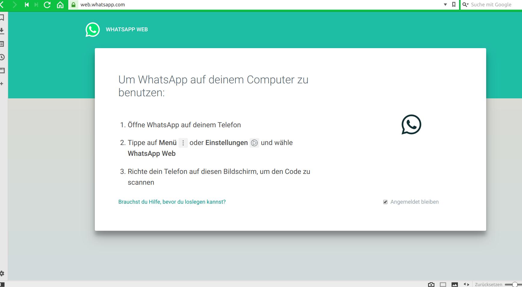 WhatsApp Web don't work | Vivaldi Forum