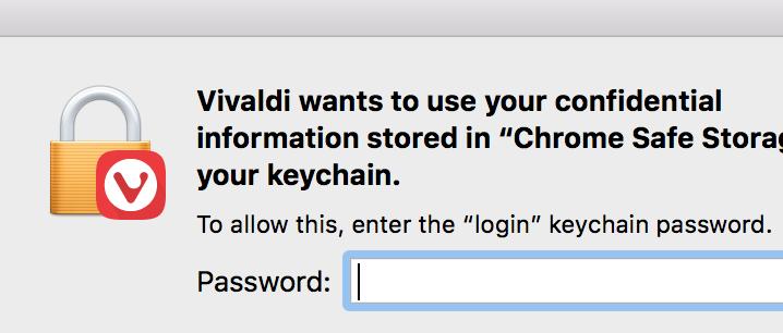 Vivaldi not saving passwords on Mac   Vivaldi Forum