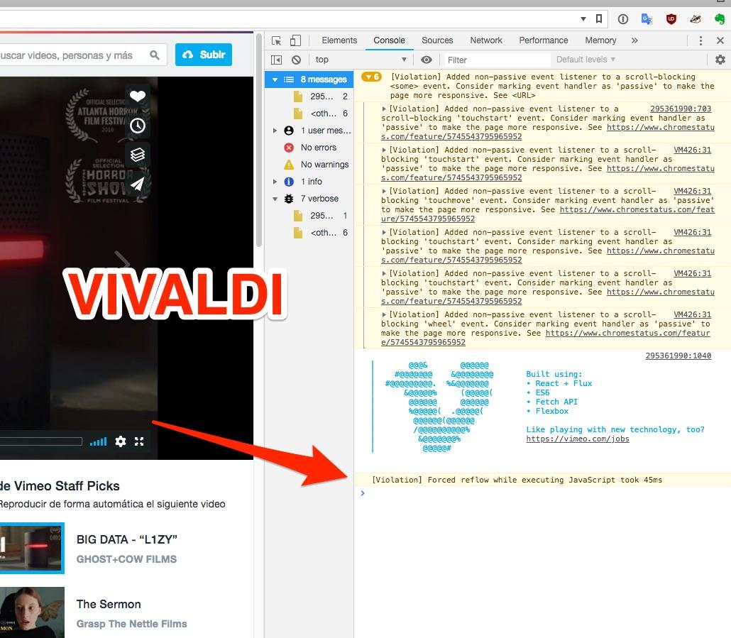 Vimeo videos not playing | Vivaldi Forum