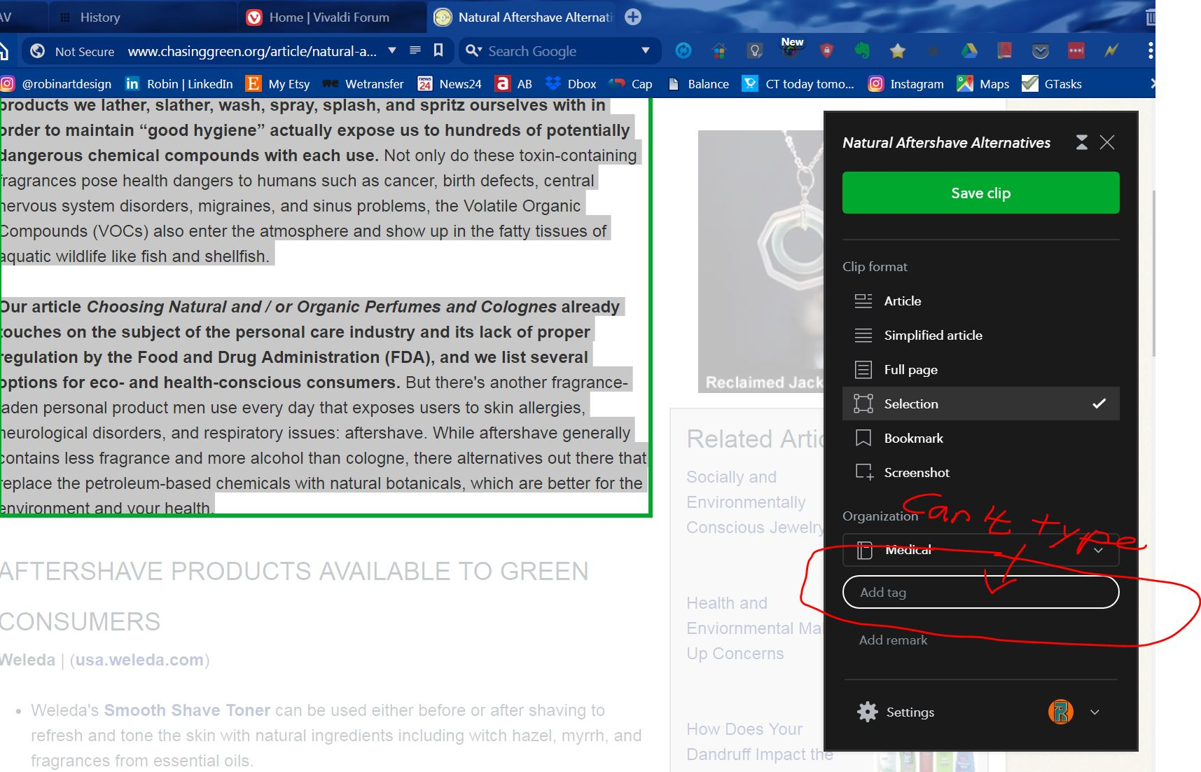Extensions issues     Now Evernote Web Clipper | Vivaldi Forum