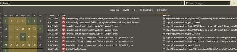 2 3 Snapshot: Missing toolbar in History page   Vivaldi Forum