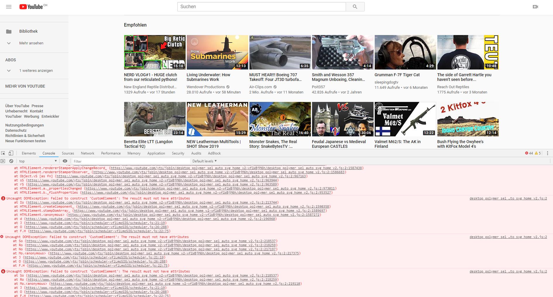 Youtube not working correctly | Vivaldi Forum