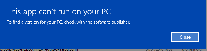 Cannot install on windows 10  | Vivaldi Forum